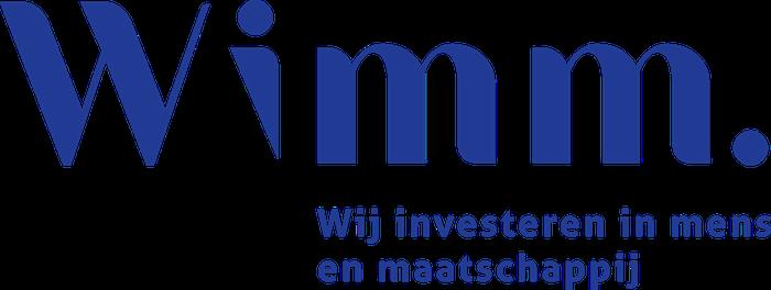 Blauw logo Wimm