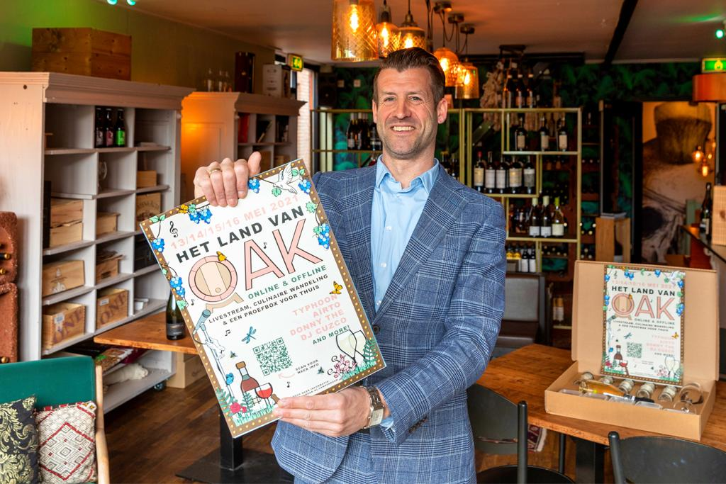 Pieter Blaauwhof van OAK Wine & Food